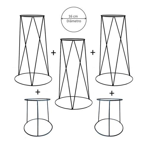 |promoção| kit 5 suportes para vaso de plantas-frete grátis