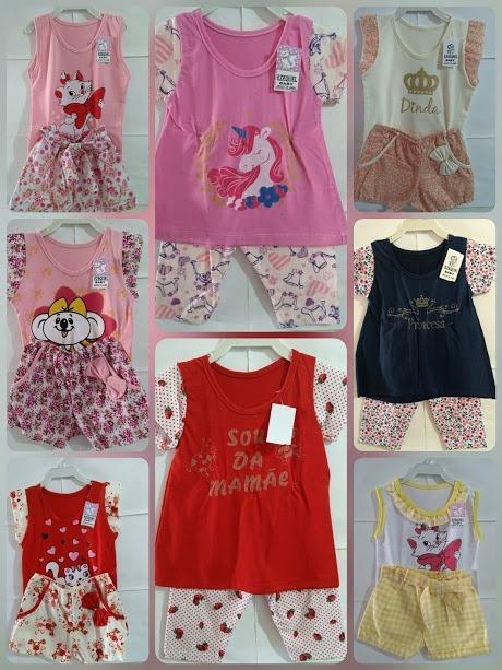 d8306239f0 Promoção Kit Atacado 12 Roupas Infantil Bebe Menina 0123anos - R ...