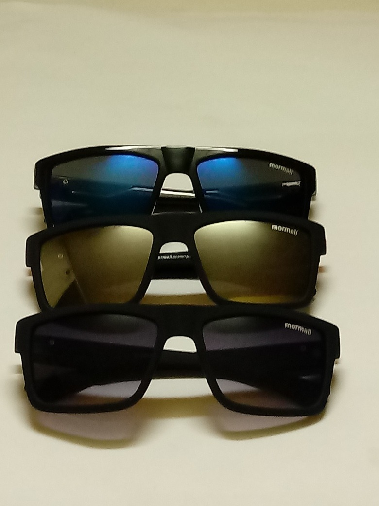 5567b2106ca27 Promoção Kit Com 3 Óculos De Sol Mormaii Lindos Óculos - R  39,90 em ...