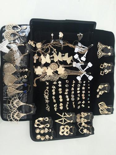 promoção kit semi joia atacado 60 peças+mostruário de brinde