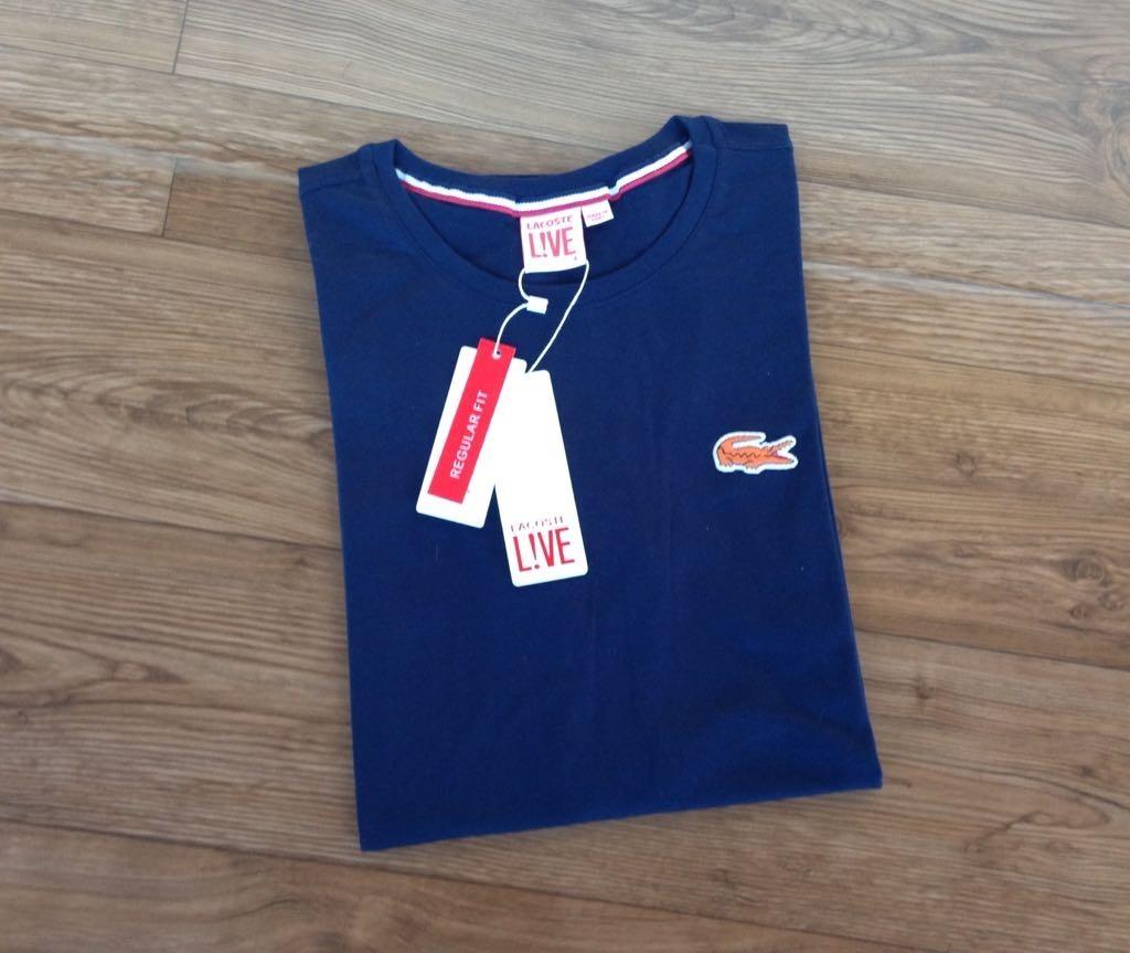 90641ea48be30 promoção lacoste live camiseta croc bordadas. Carregando zoom.