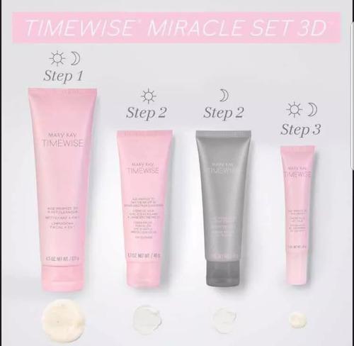 promoção lançamentooooo 24hs kit timewise 3d mary kay