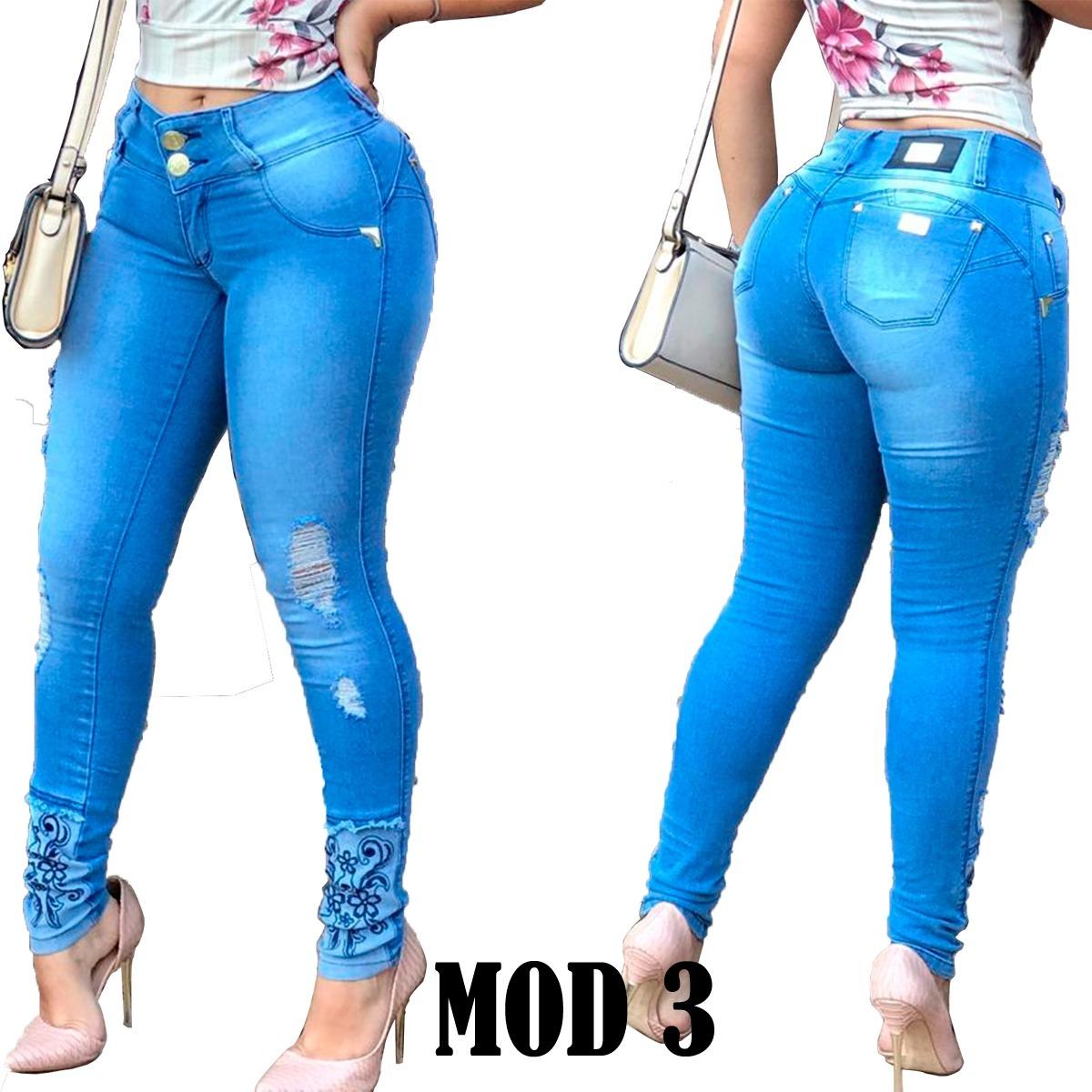 65075dd07 promoção leve 3 calças jeans c/lycra pague 2 estilo pitbull. Carregando zoom .