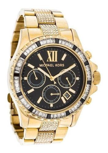promoção lindo relógio feminino michael kors mk5828