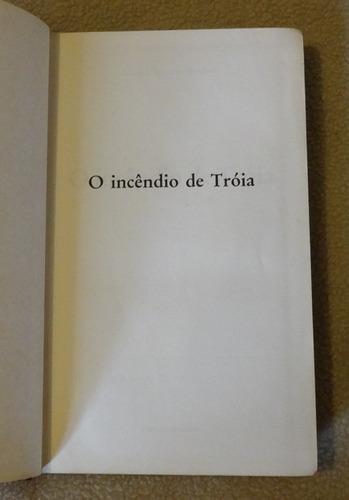 promoção! livro o incêndio de tróia - de marion z. bradley