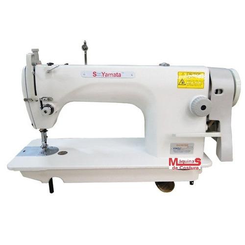 promoção :máquina de costura industrial reta yamata+brinde