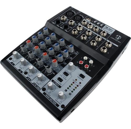 promoção! mesa 8 canais hmx-108 hayonik com phantom power