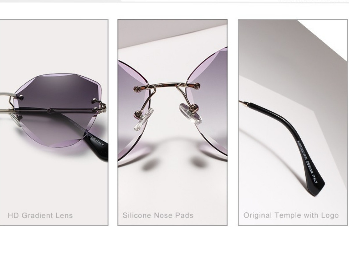 85f5a78ec Promoção Óculos Feminino Lindos Original Sem Armação - R$ 79,00 em ...