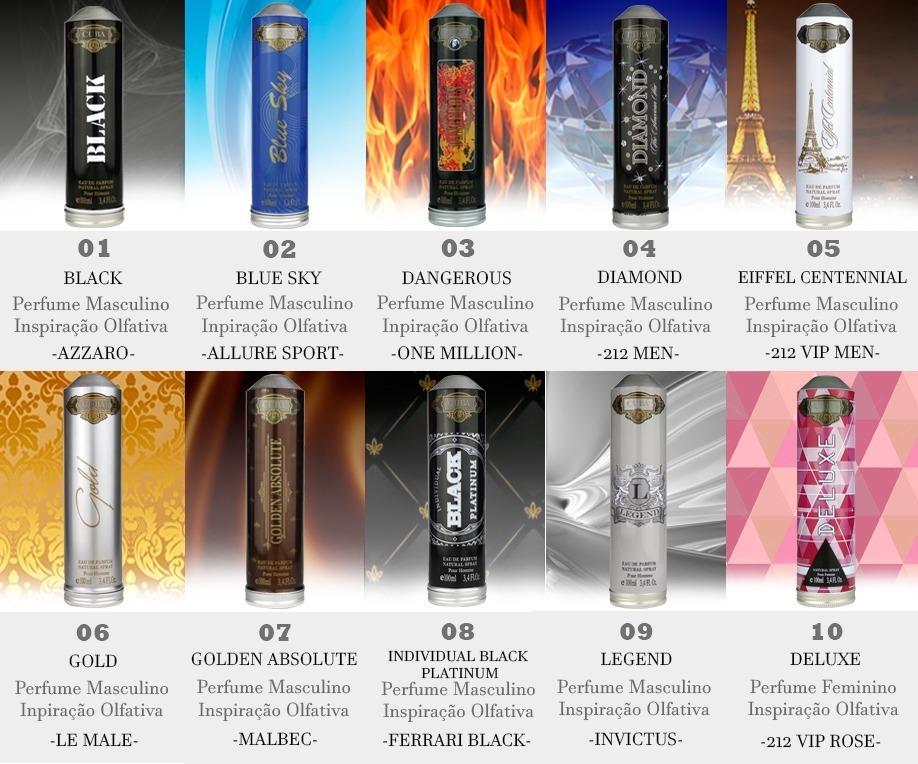 efe4e2273a0 Promoção Perfume Cuba Gold E Relógio Yakuza - Dia Dos Pais - R  119 ...
