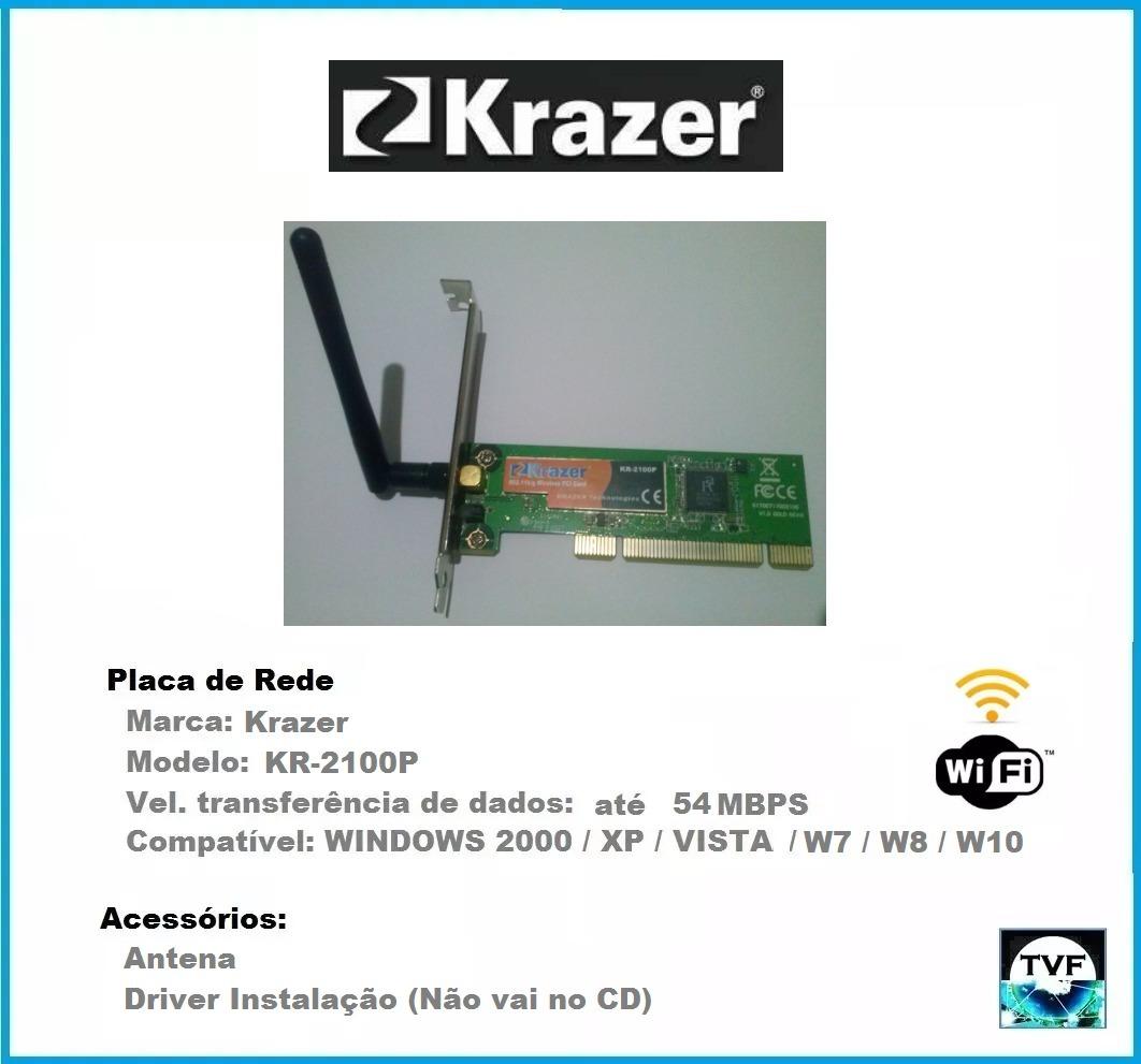 DOWNLOAD DRIVERS: KRAZER KR 2100P
