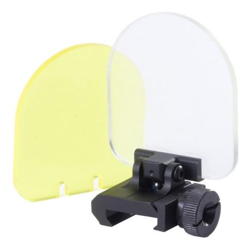 promoção! protetor red dot luneta dobrável airsoft paintball