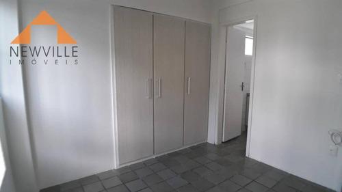 promoção r$ 260.000,00 !! apartamento reformado com 3 quartos à venda, 69 m² - torre - recife/pe - ap1199