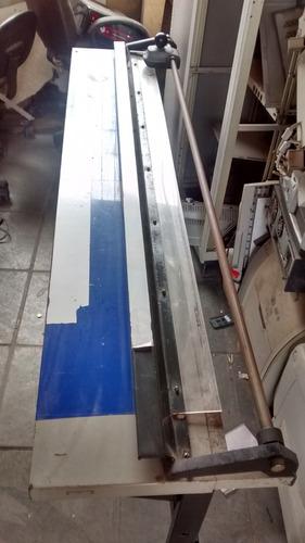 promoção refiladora grande formato 1,5 metros corte defeito