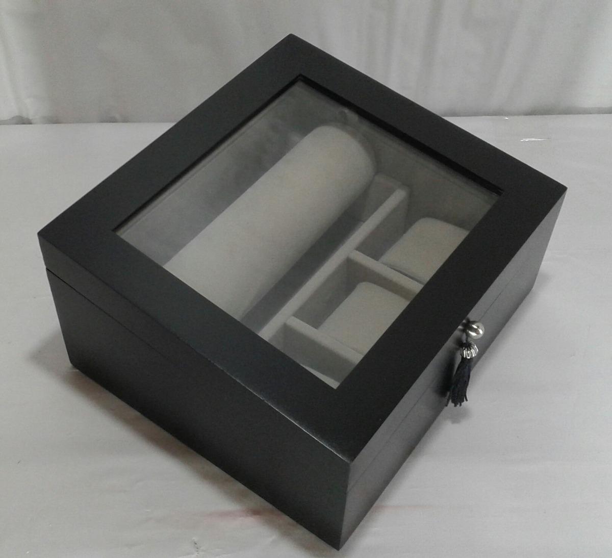 f14753a171d promoção relâmpago caixa porta joias relógios e pulseiras. Carregando zoom.