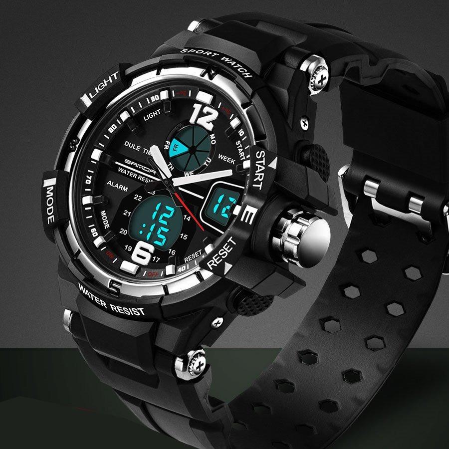 705da726794 promoção relógio digital analógico cronômetro oferta barato. Carregando  zoom.