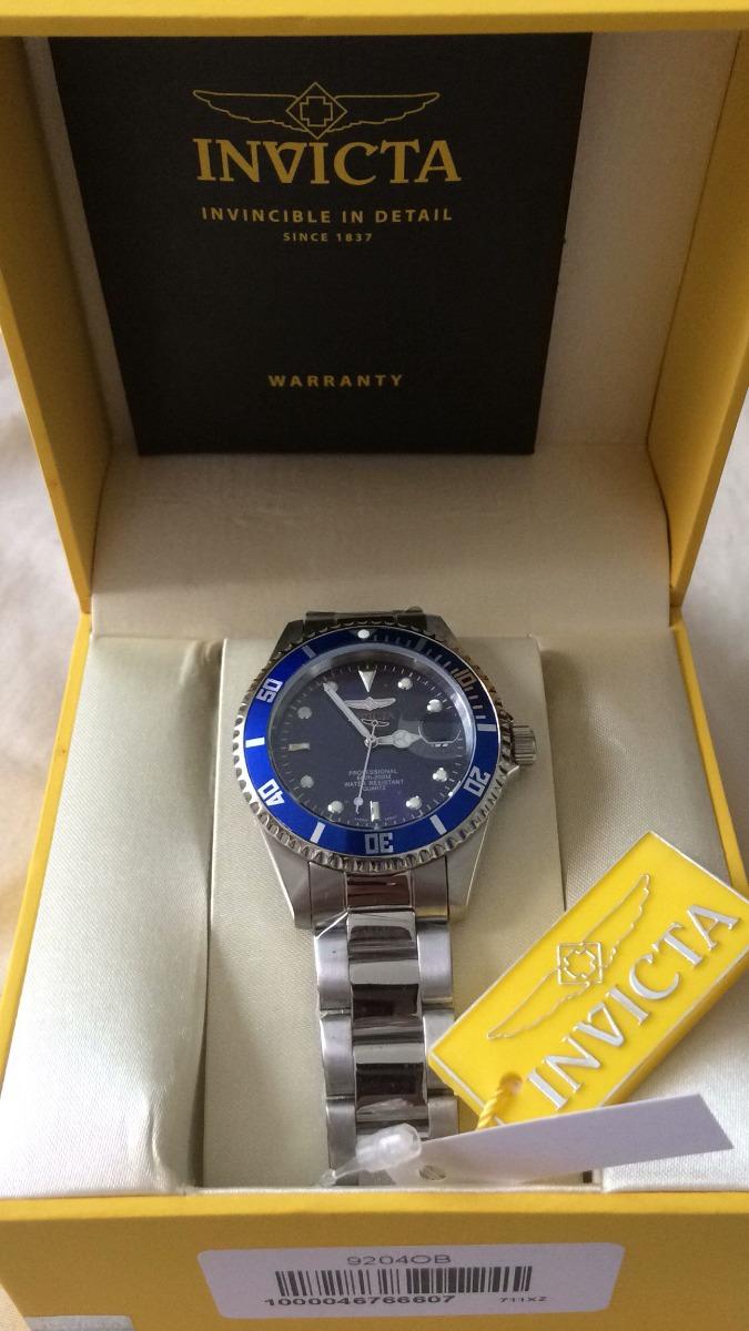 690395bfaf9 promoção relógio invicta 9204ob pro diver original. Carregando zoom.