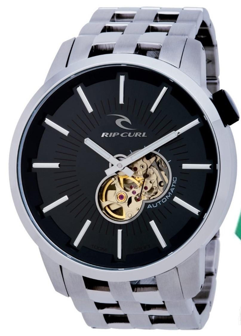 fd9f661400ad5 promoção relógio rip curl detroit automatic black    ss. Carregando zoom.