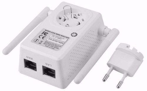 promoção repetidor roteador 1200mbps 2 antenas wireless wifi