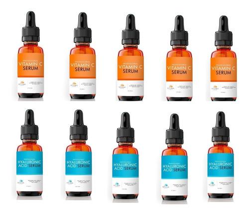 promoção revenda 5 ácido hialurônico + 5 vitamina c petúnia