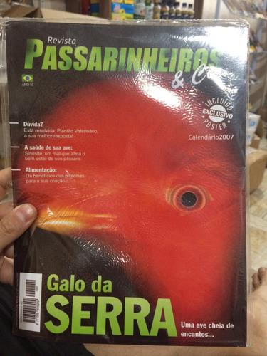 promoção revista passarinheiros & cia edição 41