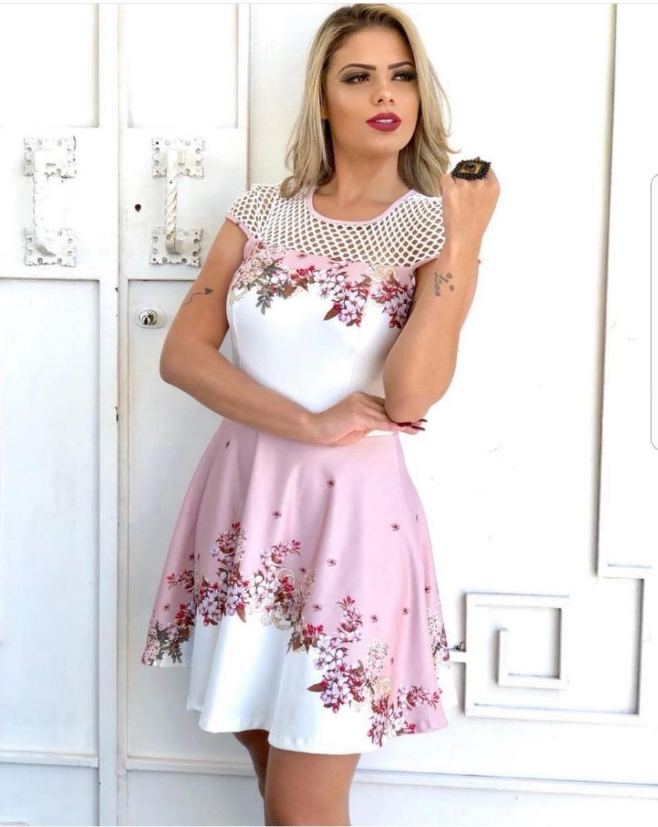 f91dd7791 promoção roupas femininas vestidos suplex estampado. Carregando zoom.