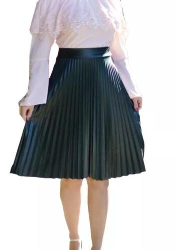 promoção  saia mid plissado em cirré