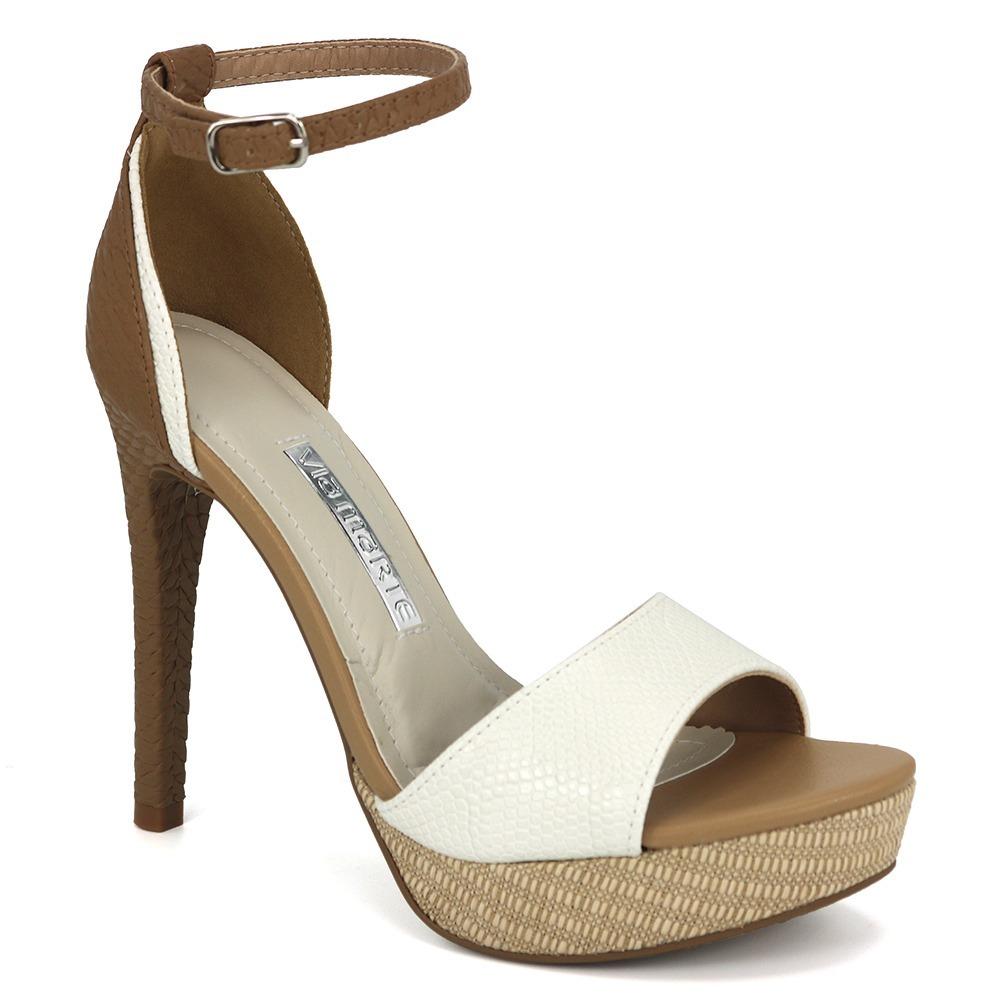 5f6c064a7 promoção sandália meia pata feminina via marte 18-19510. Carregando zoom.