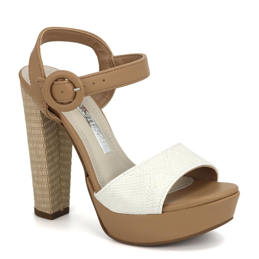 dda0d2e41 promoção sandália meia pata feminina via marte 18-20307. Carregando zoom.