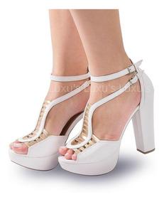 2498b78ad1 Saltos Na Promocao - Sapatos com o Melhores Preços no Mercado Livre ...