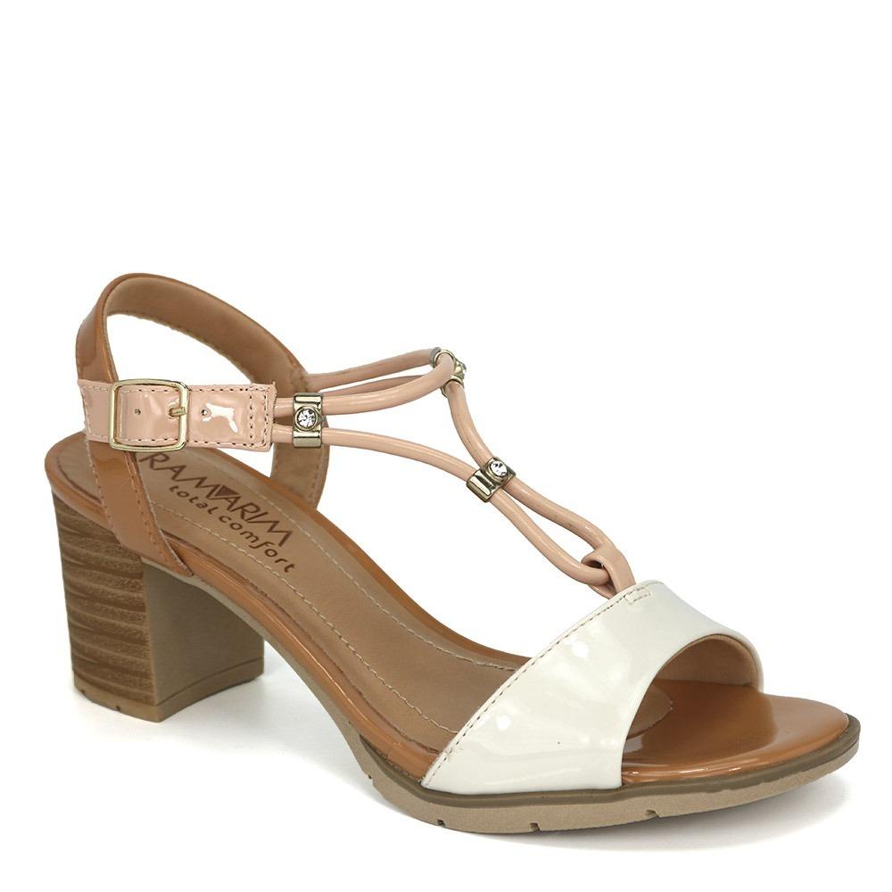 eeaedbabbc promoção sandália ramarim total confort 1842204 off white. Carregando zoom.