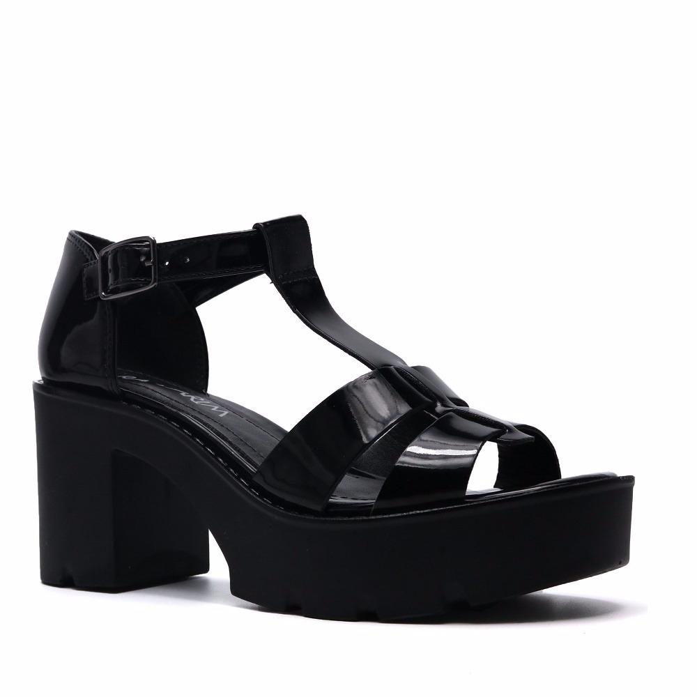124eabc08 promoção sandália tratorada feminina ramarim 1793204 verniz. Carregando  zoom.