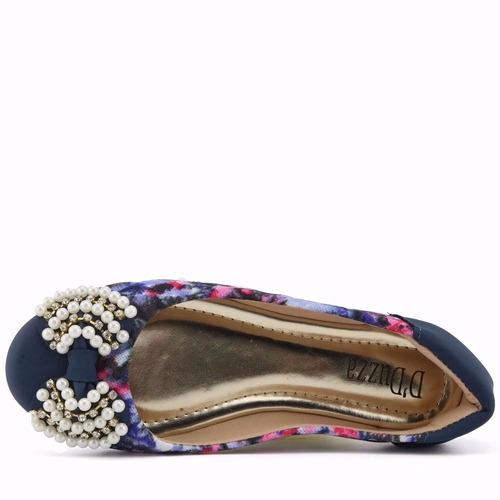 promoção sapatilha feminina com pedras d'duzza 3226