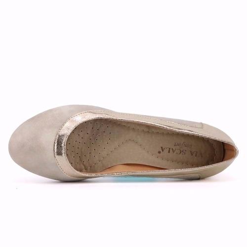 promoção sapatilha via scala conforto 200-42 gelo