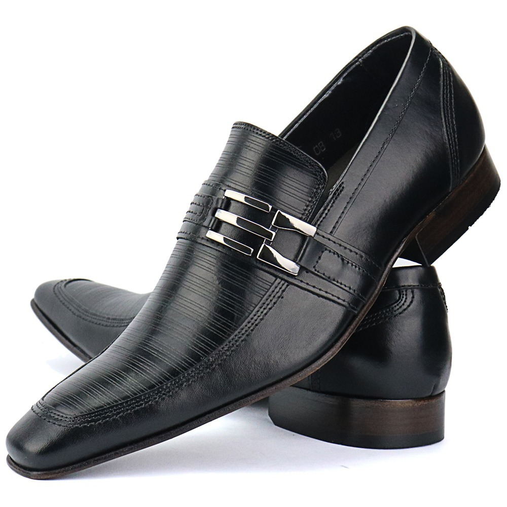 806b7b389 promoção sapato masculino couro legitimo solado borracha. Carregando zoom.