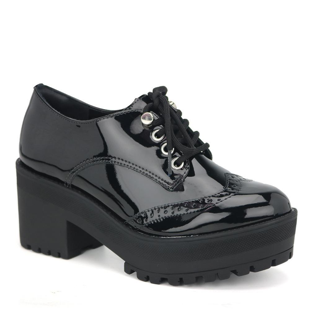 2cd5656ca3 promoção sapato oxford feminino via marte 18-5501 preto. Carregando zoom.