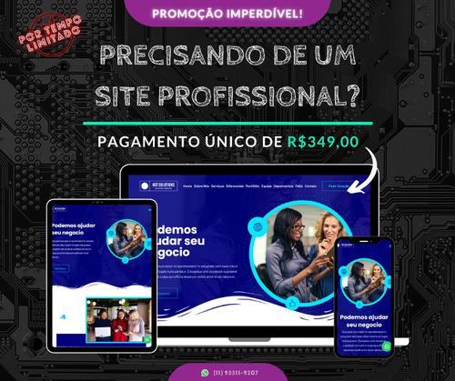 promoção sites profissionais (tempo limitado)