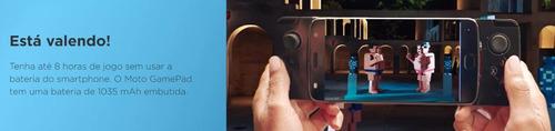 promoção snap gamepad motorola z3 play original garantia nf
