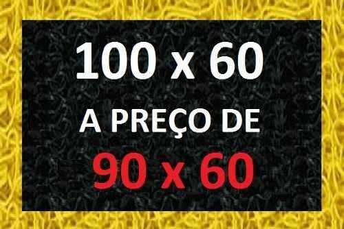 promoção tapete personalizado em 100x60