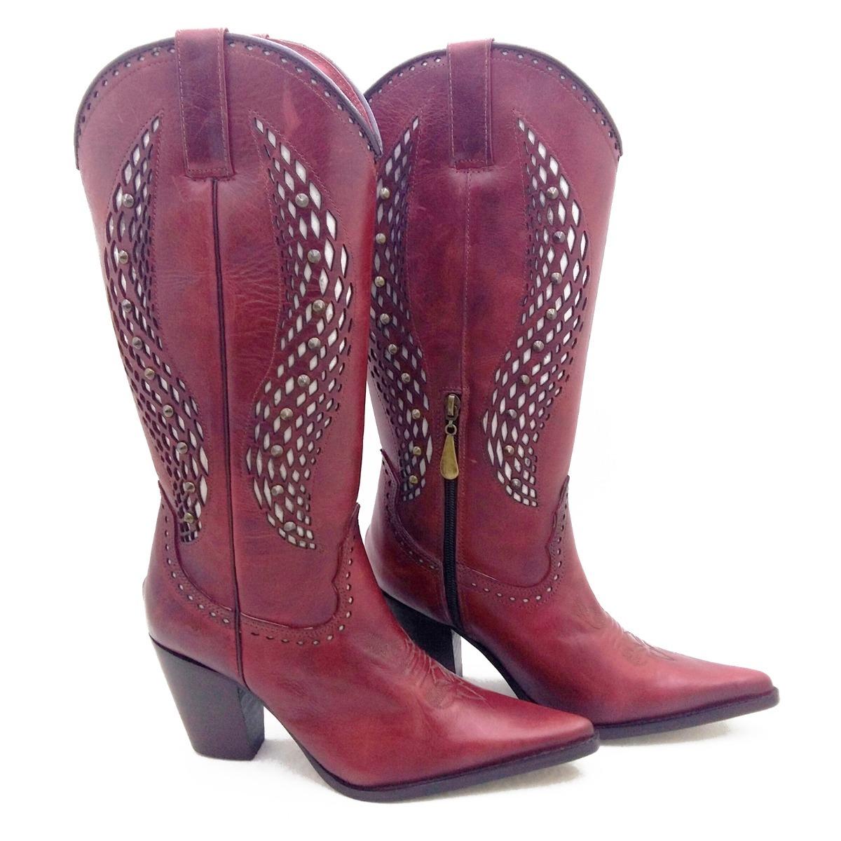 f37eac402ead5 promoção texana bota feminina country linda couro barata. Carregando zoom.