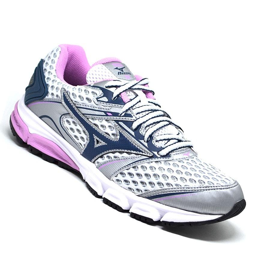 957ddcd935f promoção tênis feminino mizuno iron p prata rosa original. Carregando zoom.