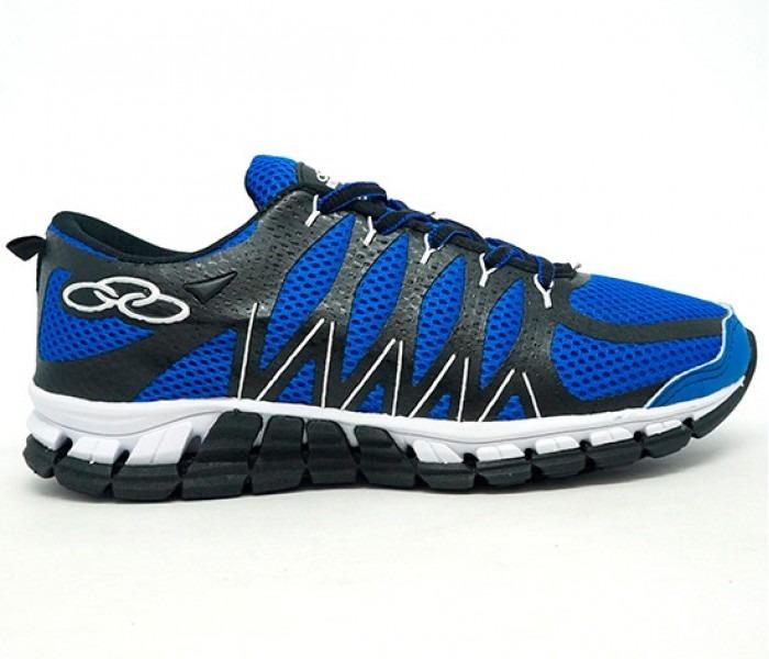 5186cd7c631 Promoção - Tênis Olympikus Style Azul E Preto - R  230
