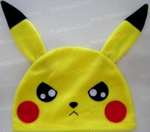 promoção !! touca de anime * pikachu pokemon * cosplay