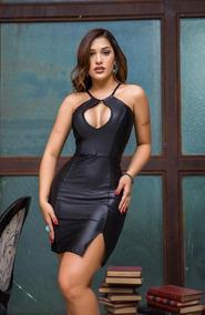 b004fe962 Vestido Curto Sexy Lycra - Vestidos Curtos Femininas no Mercado Livre Brasil