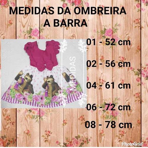 promoção vestido minie rosa baby temático luxo festa