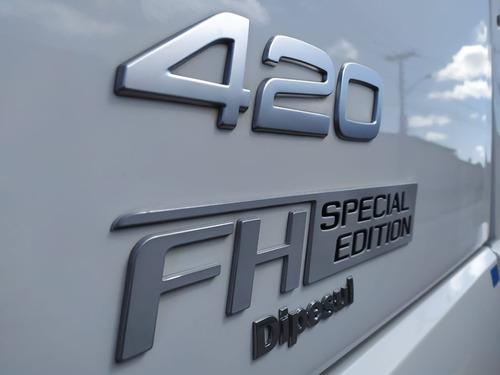promoção!! volvo fh 420 edição especial trucado 6x2 com ar.