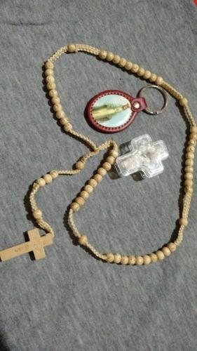 promos rosarios. rosarios de madera