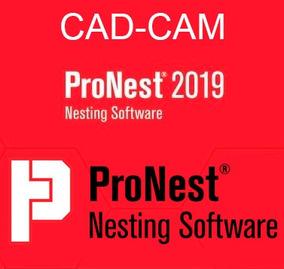 Pronest 2019 Nesting Cad Cam Español