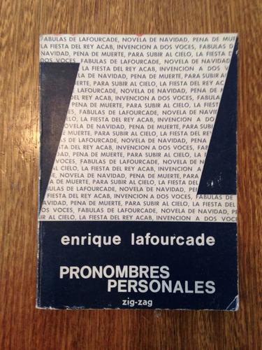 pronombres personales, enrique lafourcade