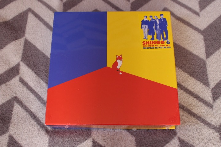 [pronta Entrega] Álbum Shinee The Story Of Light - Ep 3