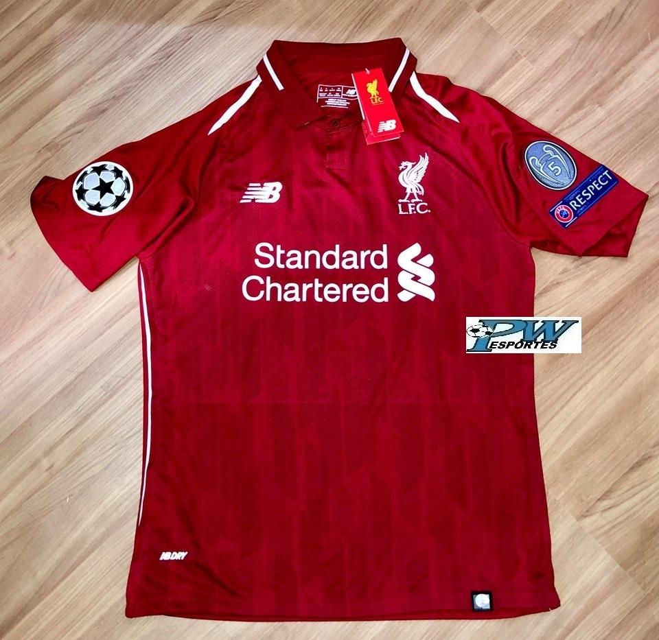 52a7f5f5ce Pronta Entrega: Camisa Liverpool 2019 #9 Firmino - R$ 249,00 em ...